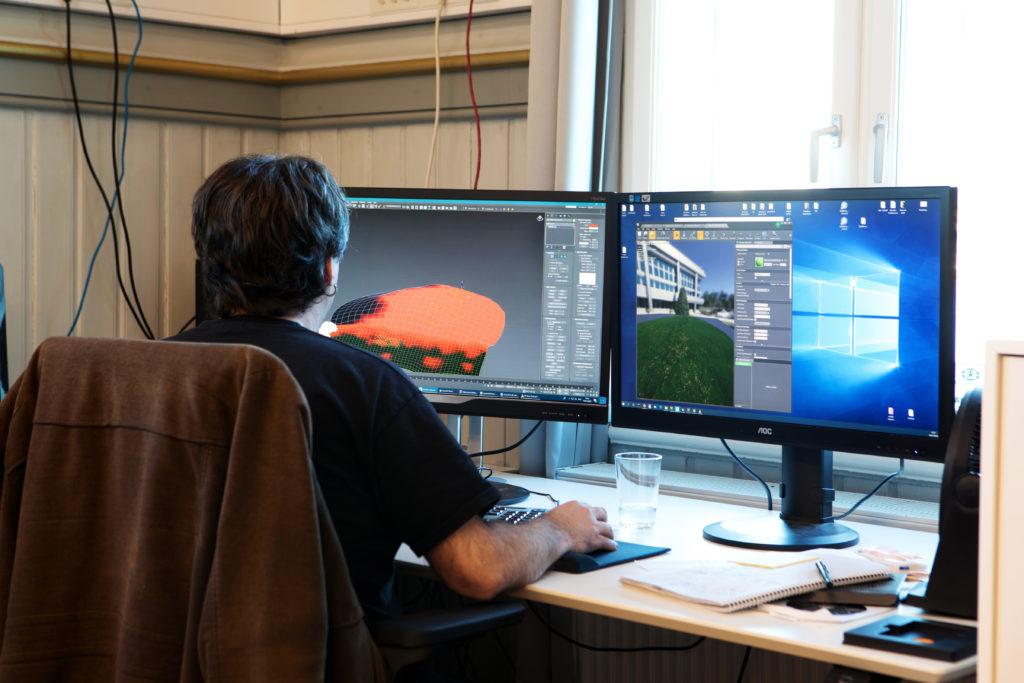 Spillutvikling hos Ravn Studio