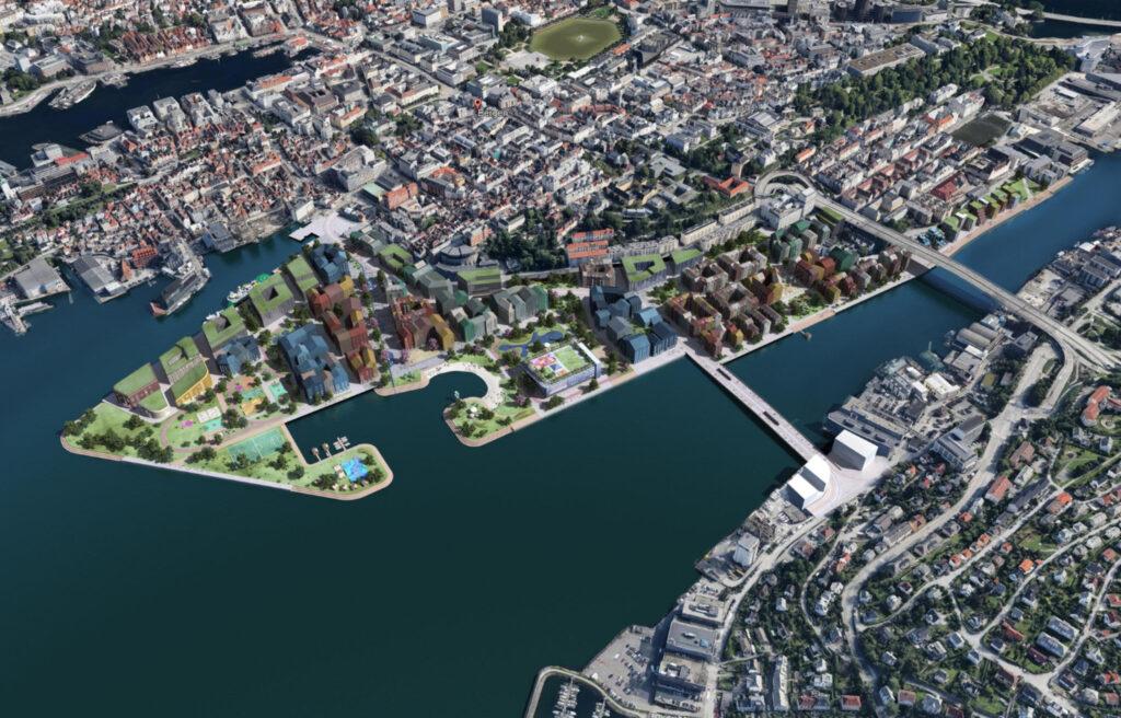 Dokken 2050, Bergen kommune v/PBE